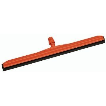 Сгон для пола, красный с черной резиной, 45-75 см