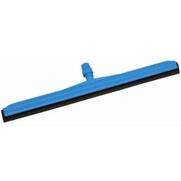 Сгон для пола, синий с черной резиной, 45-75 см