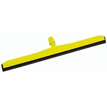 Сгон для пола, желтый с черной резиной, 45-75 см